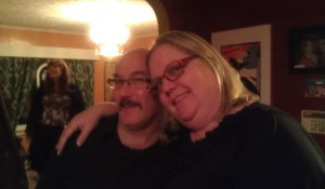 With Lee Kelly on Thanksgiving 2012